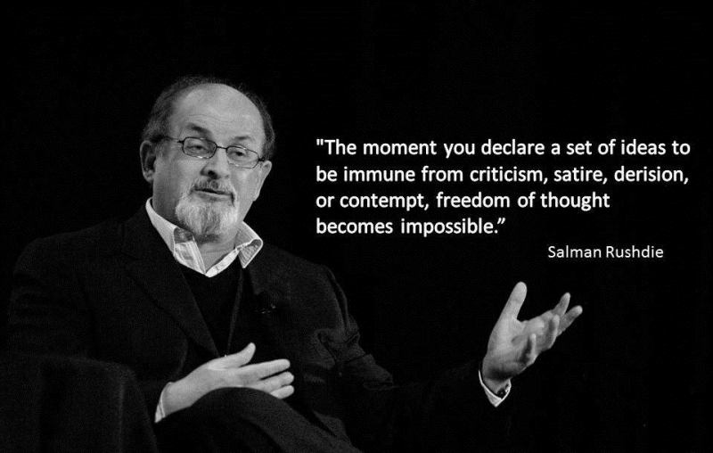 A quote by Salman Rushdie