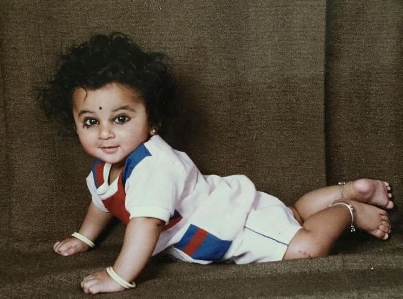 Akshay Waghmare's childhood picture