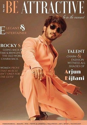 Arjun Bijlani featured on the cover of Be Attractive