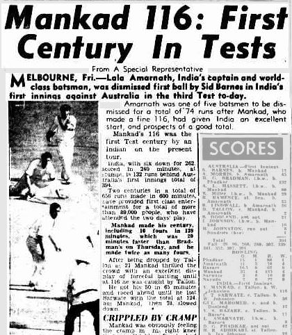 Courier Mail 3 January 1948