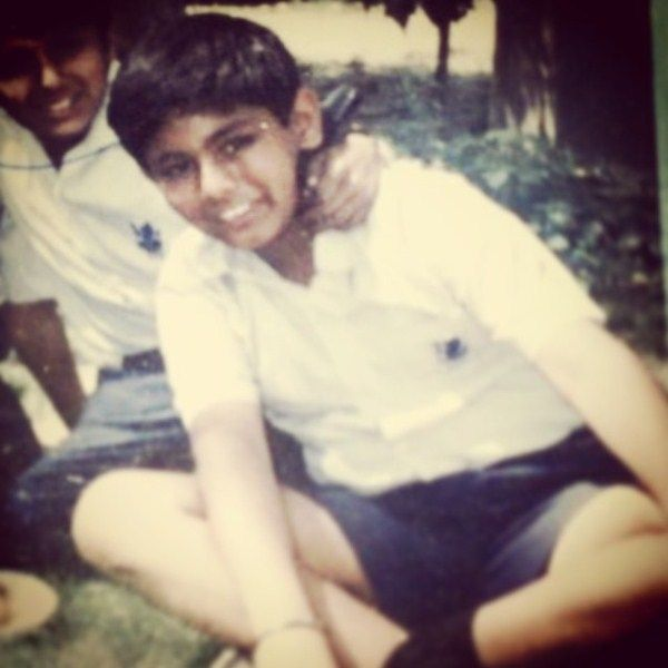 Gaggan Anand during his school days