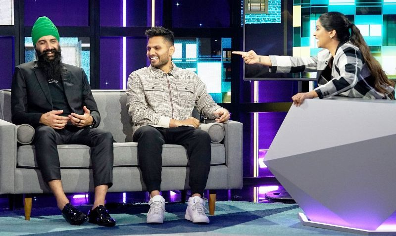 """Humble on the show """"A Little Late With Lilly"""" with Jay Shetty"""