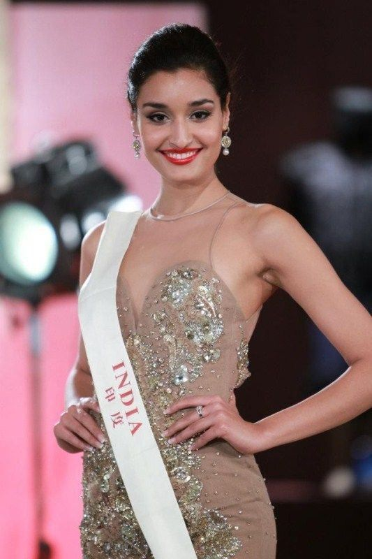 Kanishtha represents India in Miss World 2011 pageant
