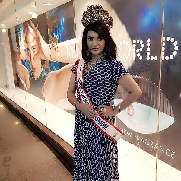 Naaz Joshi becomes the brand ambassador of Miss United Nations