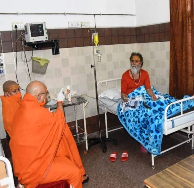 Narendra Giri in hospital after being tested COVID19 positive