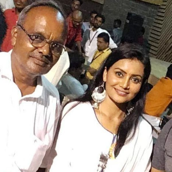 Sonali Patil with her father