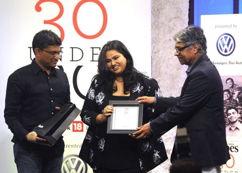 Pooja Dhingra wins '30 Under 30' by Forbes