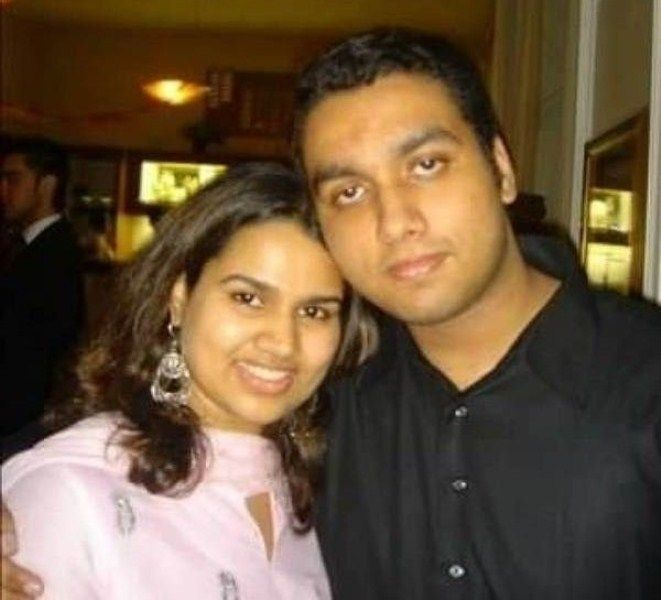 Pooja Dhingra with her brother