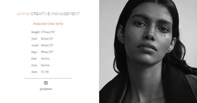 Pooja Mor featured by Amina Creative Management