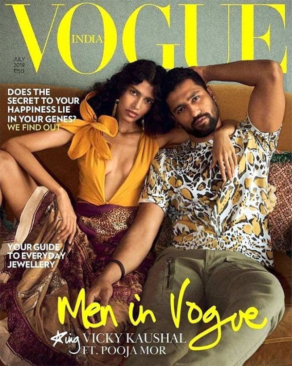 Pooja Mor on Vogue cover with Vicky Kaushal
