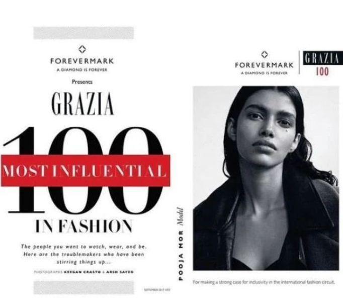Pooja Mor on the list of 100 most influential in fashion