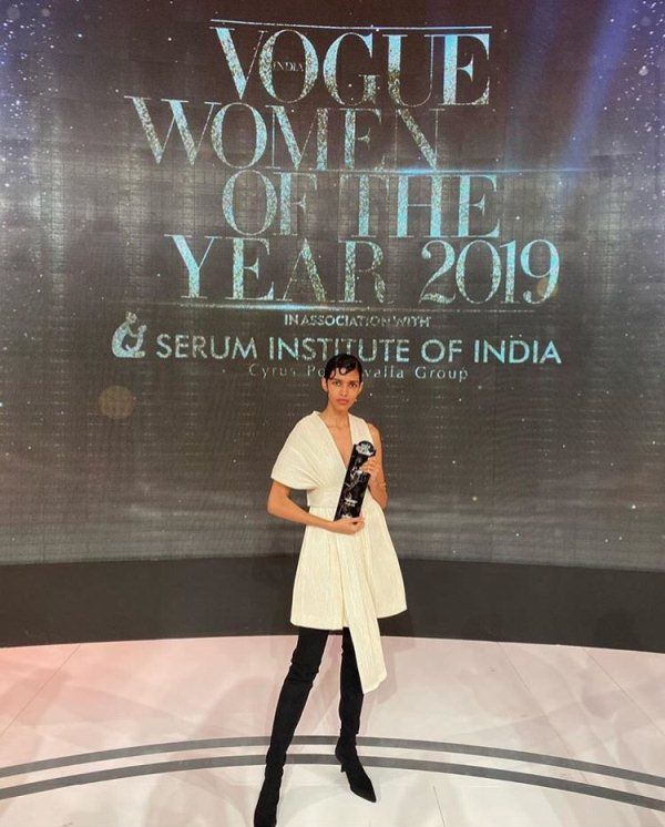 Pooja Mor wins Young Achiever of the year award in 2019