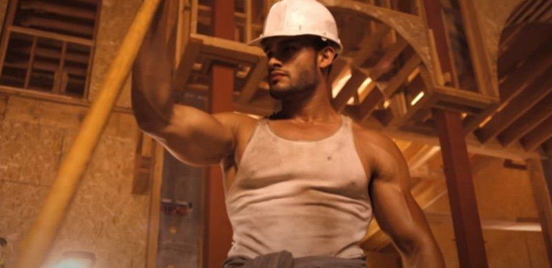 Sam Asghari in Fifth Harmony's Work From Home music video