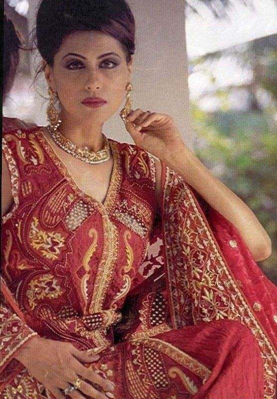 Seemi Pasha's picture from a bridal photoshoot