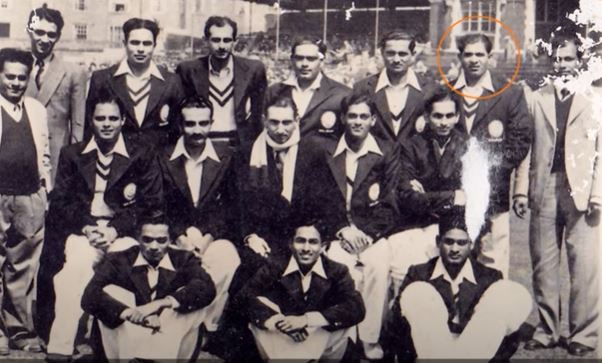 Vinoo Mankad selected for his debut series against England in 1946