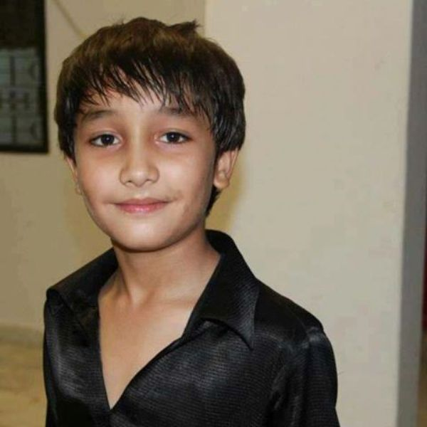 Zuhab Khan's childhood picture