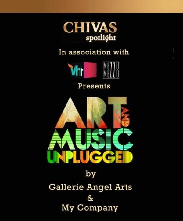 Banner acara Art and Music Unplugged (2012)