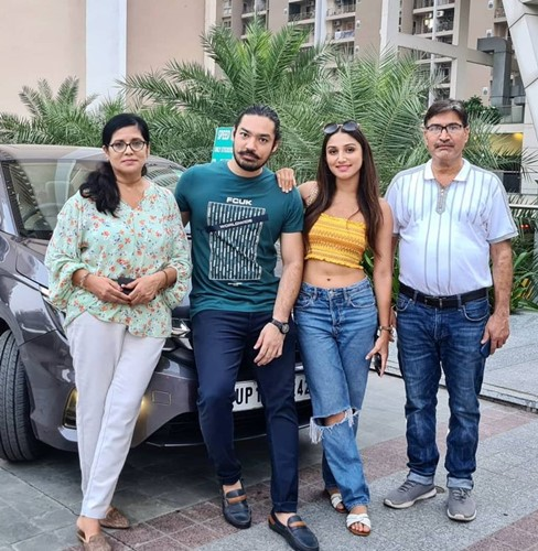 Donal Bisht with her family