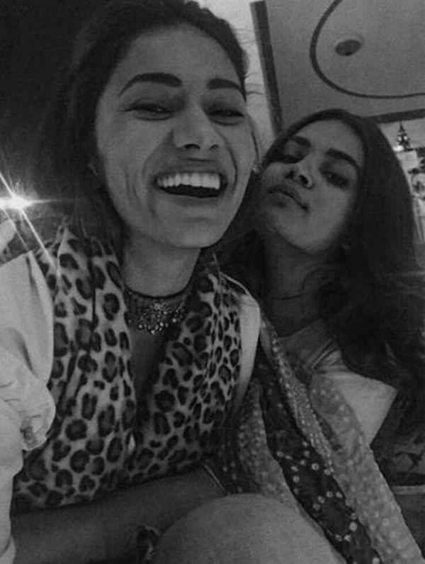 Gurleen with her sister
