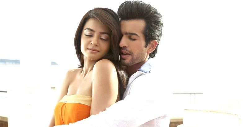 Jay Bhanushali and Surveen Chawla in a still from the movie Hate story 2