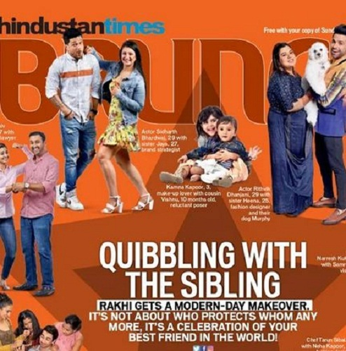 Jaya Bhardwaj and her brother featured in HT Brunch's cover story