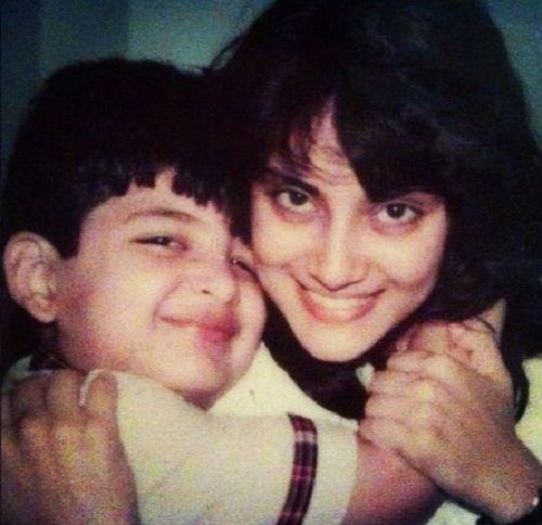 Karan Kundrra's childhood picture with his sister