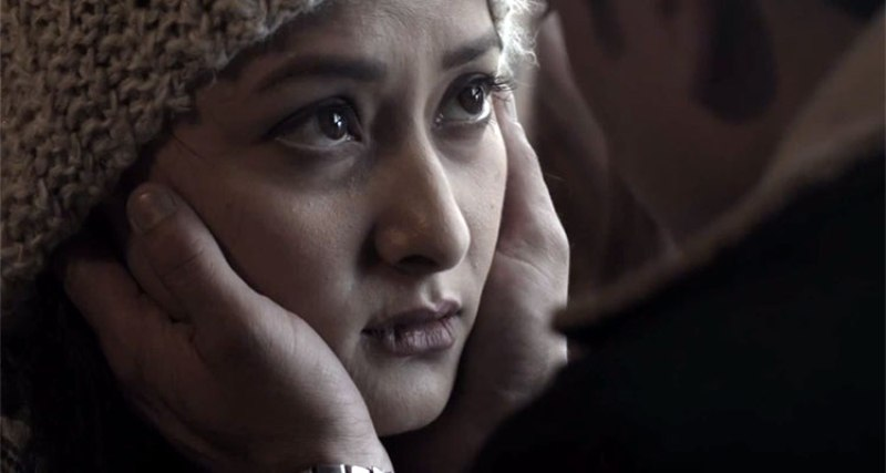 Namrata Shrestha in a still from the movie Soul Sister