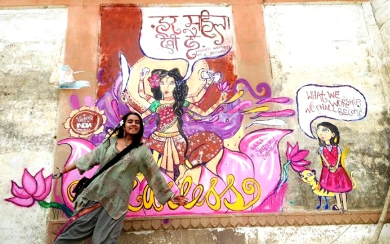 Shilo Shiv Suleman's The Fearless Collective mural