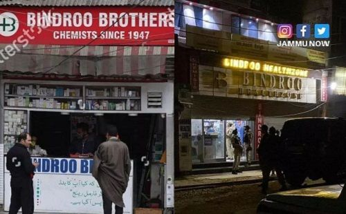 Shraddha Bindroo's father's shop