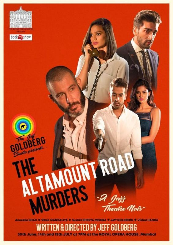 Sushrii on the cover of the show 'The Altamount Road Murders'