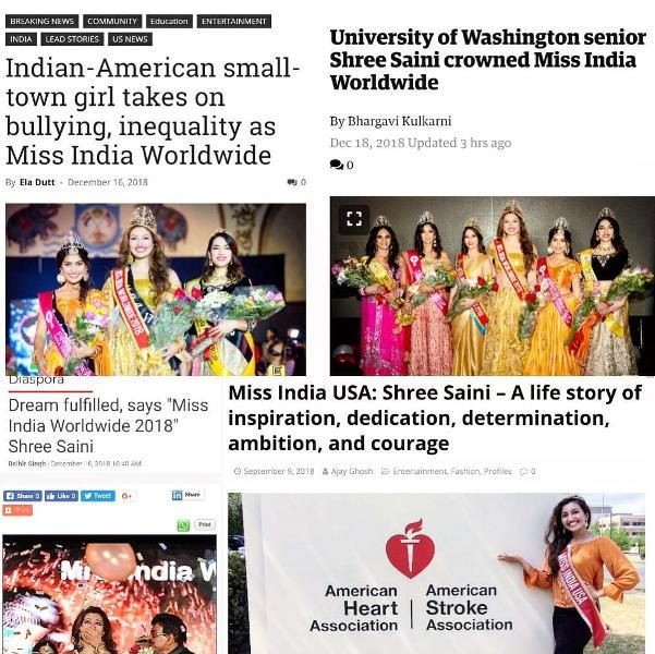 The success story of Shree Saini covered by several newspapers